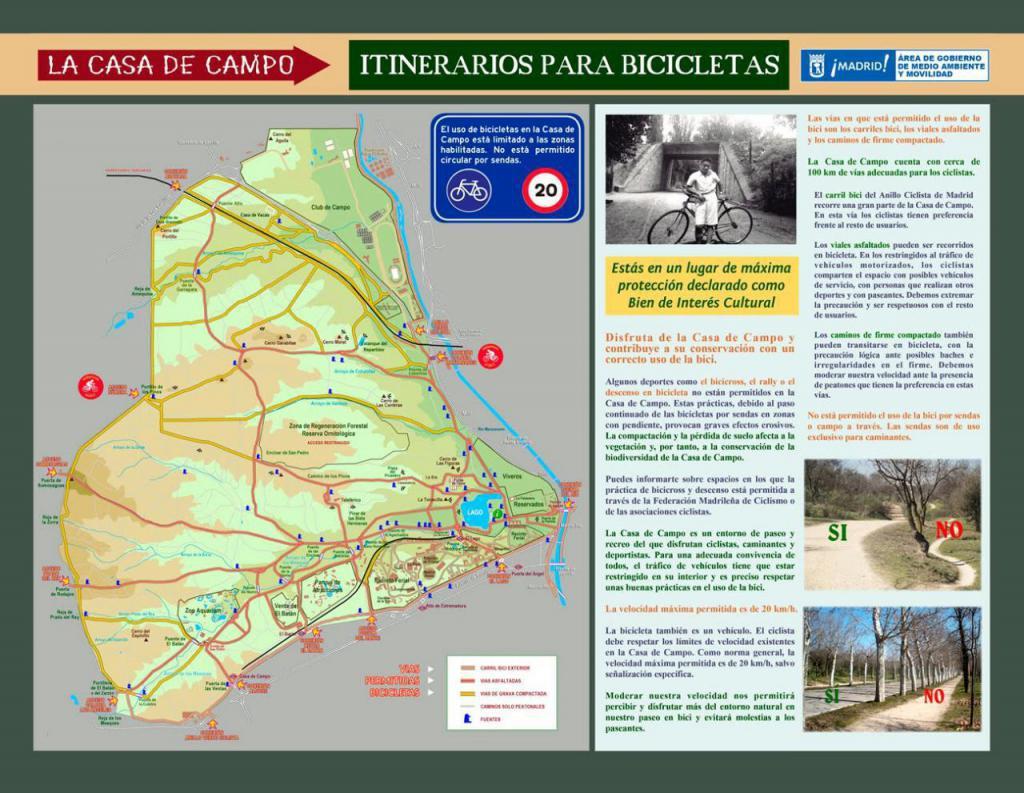 Mapa Casa de Campo