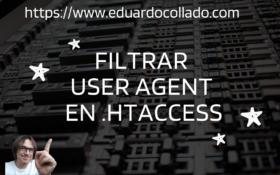 Filtrar UserAgent en .htaccess